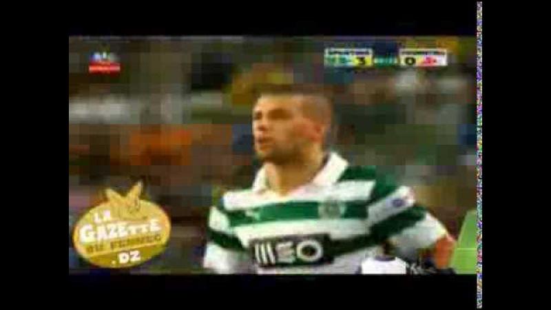 Entrée d'Islam Slimani : Sporting Lisbonne vs. Fiorentina (Premier match)