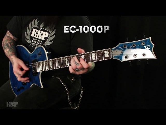 ESP Guitars EC-1000 Piezo Demo with Chris Cannella
