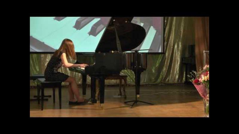 Ф. Лист. Грёзы любви. Дарья Соколова, 14 лет. Видео-съемка Виктор Чуб.