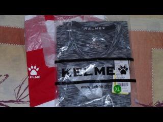 Футболки фирмы KELME. Спортивная одежда из Китая.AliExpress.NIKE отдыхает/Review KELME