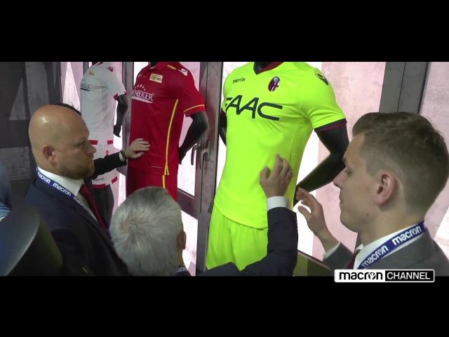 UEFA sceglie Macron come partner del tep TEP Kit Assistance Scheme
