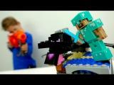 Мультики Майнкрафт: Стив, Алекс и Егор захватывают алмазную шахту! Лего #Майкрафт