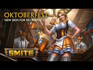 SMITE - New Skin for Nu Wa - Oktoberfest