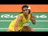 Indian Badminton Player P.V. Sindhu Makes History in Rio Olympics