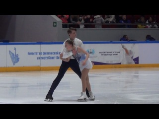 2017 Russian Jr Nationals - Aleksandra Boikova / Dmitrii Kozlovskii FS