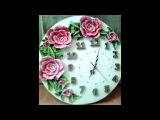 Барельеф.Часы. Barel'ef. Bas-relief. Clock. (3 работы )