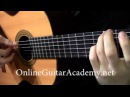The Four Seasons Winter 2nd mvt solo classical guitar arrangement by Emre Sabuncuoglu