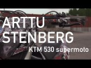ARTTU STENBERG SUPERMOTO STUNTS