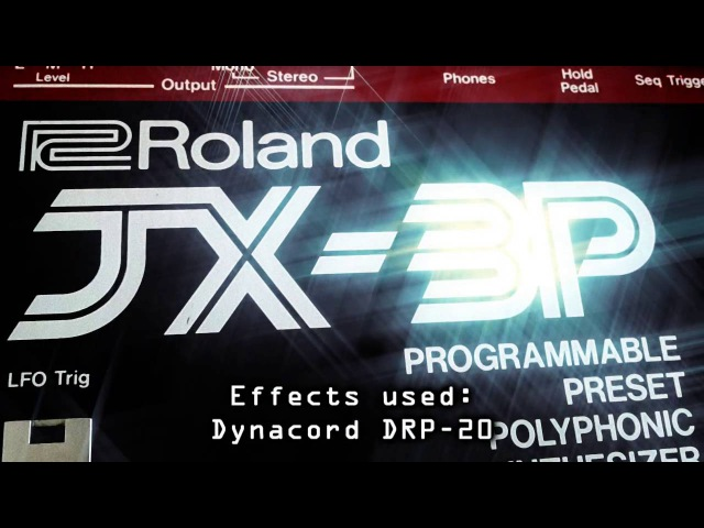 Hyboid – Fantasy in RGB – Roland JX-3P Linndrum Demo [HQ Audio] Italo Disco / Synthwave