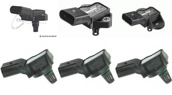 Датчик давления воздуха, высотный корректор; Датчик, давление во впускном газопроводе для AUDI Q5 (8R)