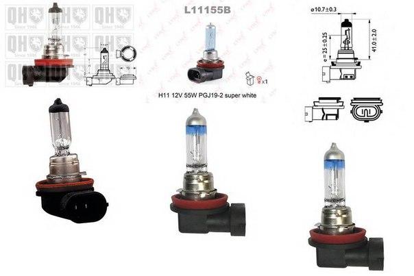 Лампа накаливания, стояночные огни / габаритные фонари; Лампа накаливания для AUDI Q5 (8R)