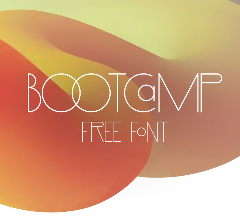 Download BOOTCAMP font (typeface)