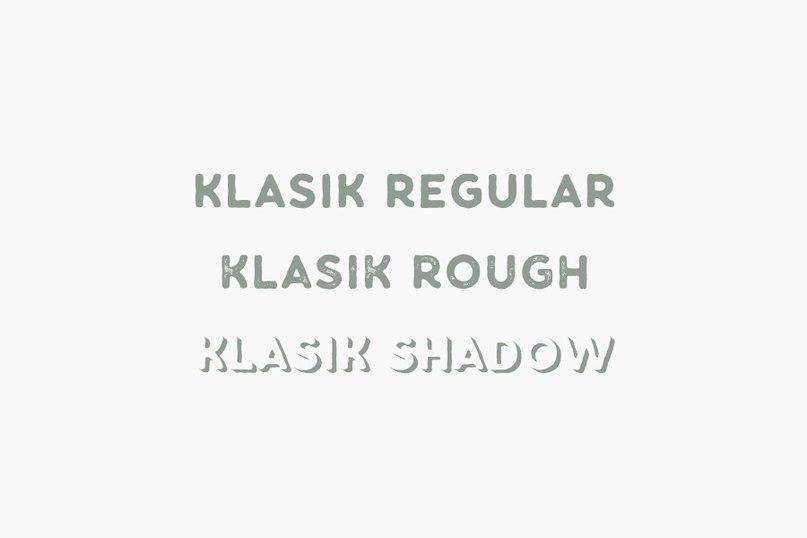 fuente Klasik Font