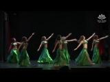 CHARMING GIRLS! Bellydancing Group with Wonderful Belly Dance. Oriental Belly Da 6365