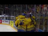 Полуфинал ЧМ-2017. Швеция - Финляндия - 4:1. Гол Нюландера