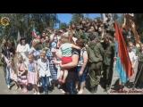Молодая Гвардия Донбасса на митинге памяти по погибшим в Великой Отечественной войне. 22 июня 2017г. г. Горловка. ДНР.