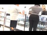 Phat ass super donk black spandex HD - big ass booty butts tits boobs bbw pawg mature curvy milf