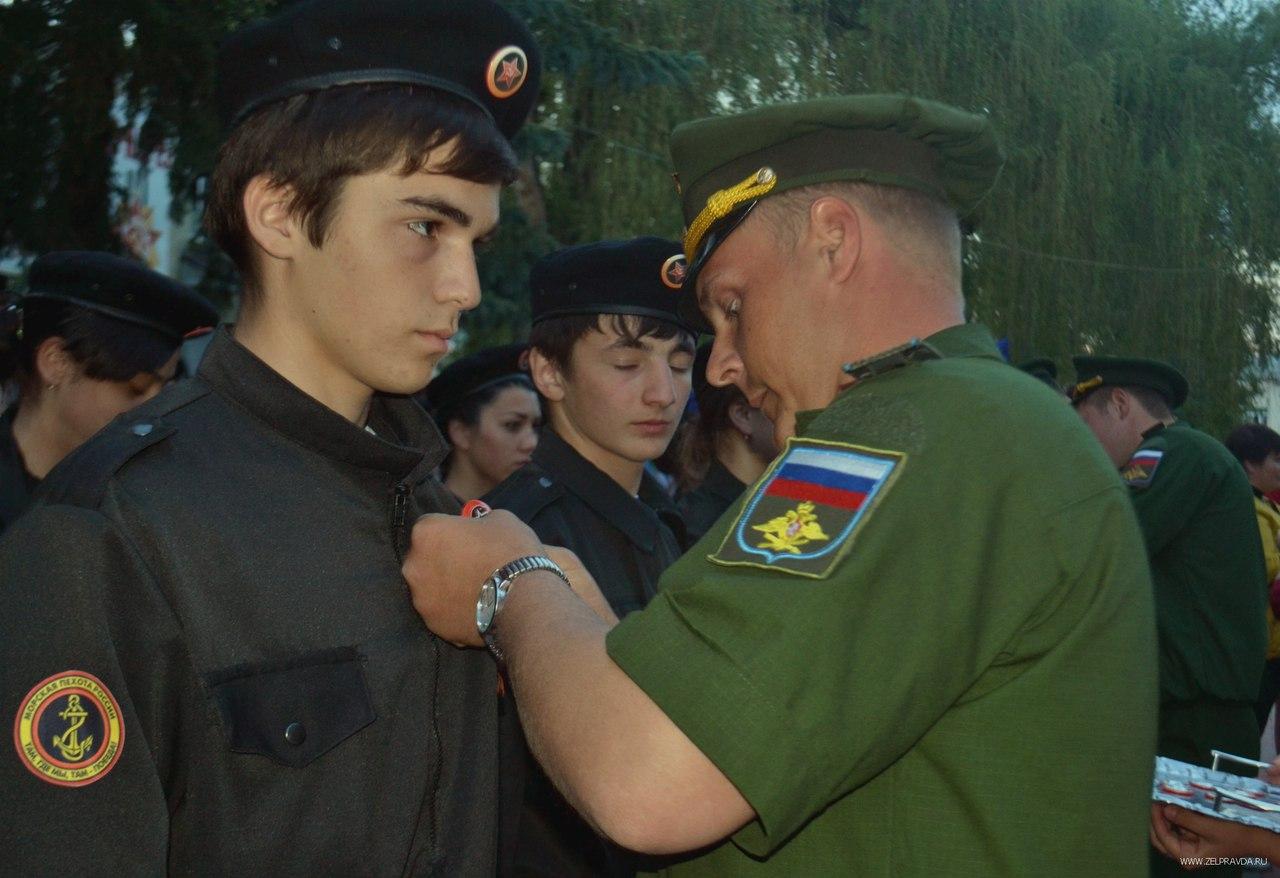 Юнармейцы в Зеленчукском районе приняли присягу
