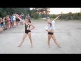 Танцевально-гимнастический  батл в лагере – Маша и Женя (Kanye West feat. Jay-Z – I Cant Stop)
