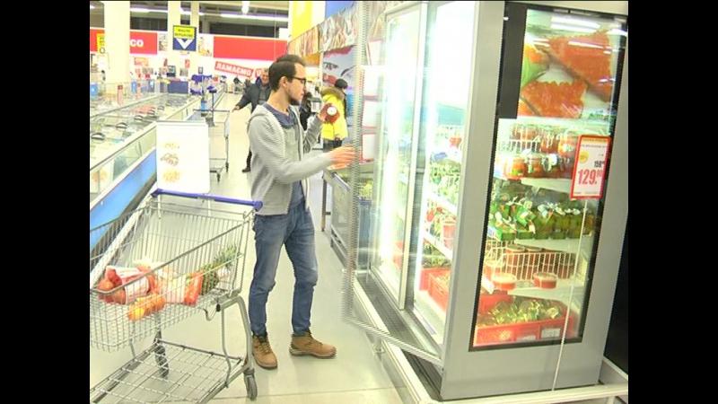 Зйомки в супермаркеті