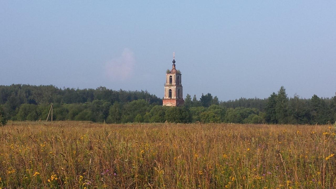 Киржач, колокольня в Аргуново, ГЭС в Финеево