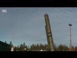 Вот так происходит запуск межконтинентальной баллистической ракеты Тополь-М