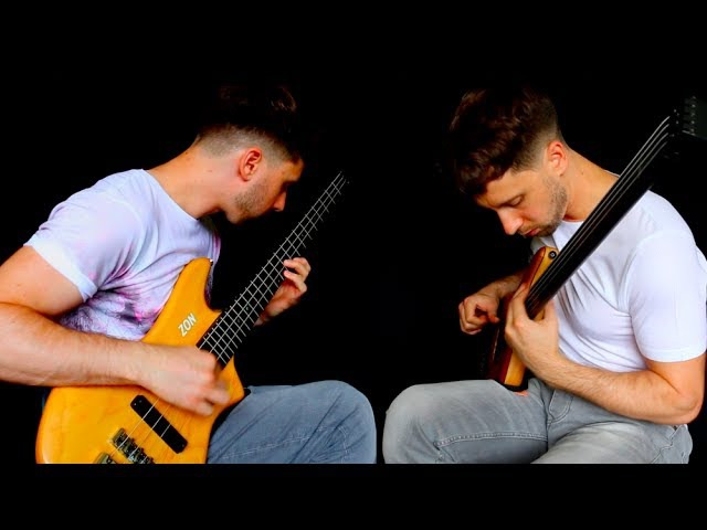 MUSE 'RESISTANCE' - Fretless Fretted Bass