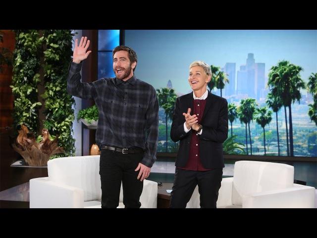 31 октября 2016 - Джейк на шоу «The Ellen DeGeneres Show» в Лос-Анджелесе, США