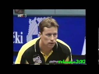 Jan-Ove Waldner vs Kalinikos Kreanga (ETTC 2002)
