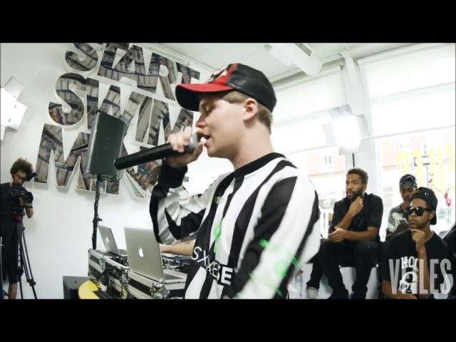 Yung Lean - Deathstar Getting Benjamins ( Live at VFILES )