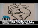 Graffiti Tutorial for beginners - How to connect simple graffiti letters #3