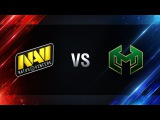 Natus Vincere vs Carpe Diem - day 3 week 8 Season I Gold Series WGL RU 201617