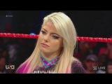 SB_Group Raw 061217 Sasha Banks, Mickie James, Dana Brooke, Alexa Bliss, Nia Jax &amp Emma Segment + 3 on 3 tag team match