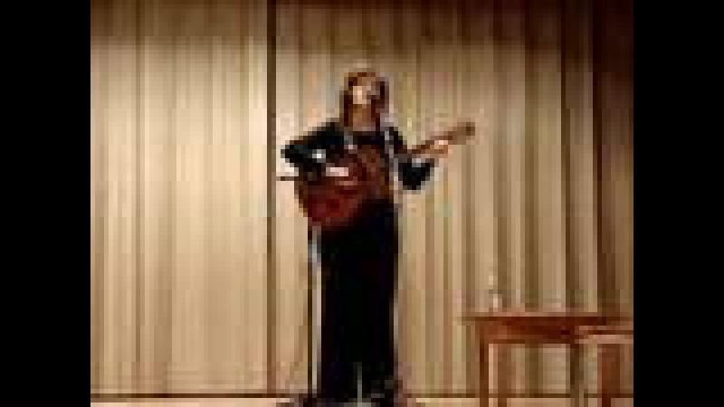 Веста Солянина исполняет песню Александра Медведенко