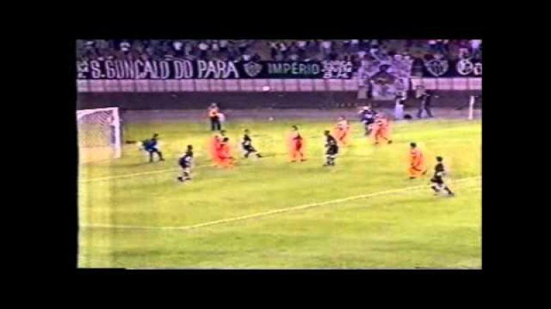 ATLÉTICO 6x0 Cobreloa/CHI - Libertadores 2000