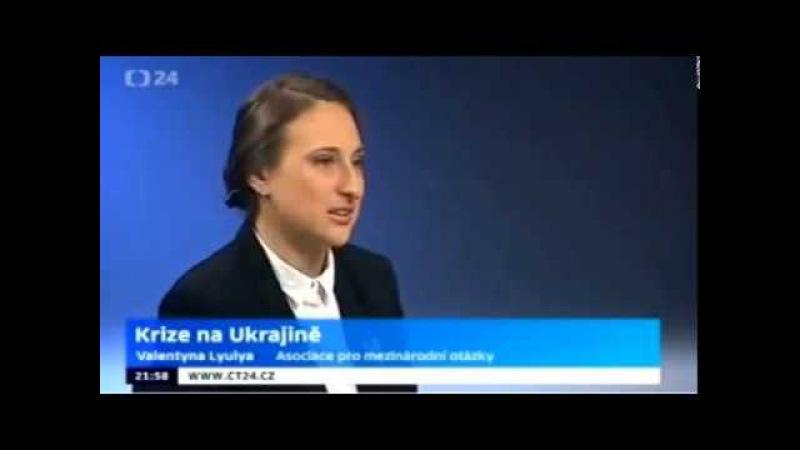 ТВ Чехии нацисты Правого сектора и Трезуба это жиды