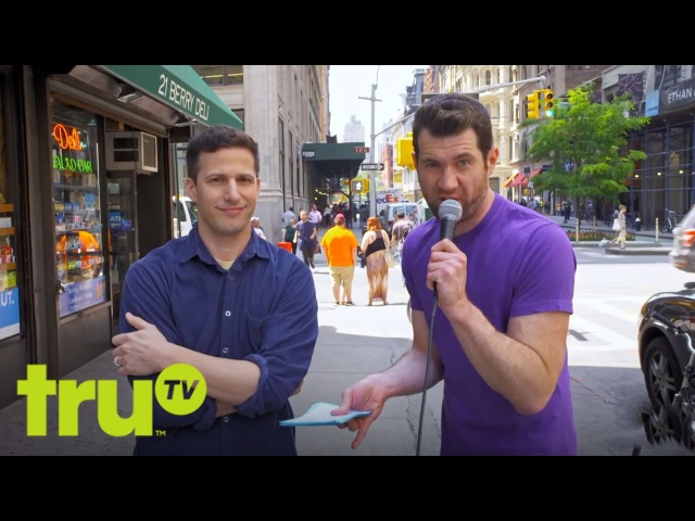 Billy on the Street - The New Suicide Squad, with Andy Samberg!