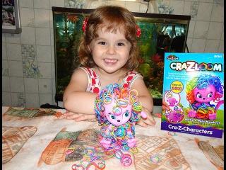 Делаем классную обезьянку:))) Набор для творчества CRA-Z-LOOM, Make a Mini Monkey!