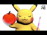 POKEMON PPAP ピカチュウがやってみた 【ピコ太郎 PIKO-TARO PIKACHU Pen Pineapple Apple Pen】