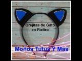 DIADEMA OREJITAS DE GATO EN FIELTRO Paso a Paso CAT EARS HEADBAND Tutorial DIY How To PAP
