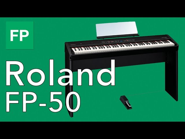 Roland FP 50 - Обзор цифрового фортепиано