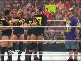 WWE Raw The Nexus makes John Cena and Otunga to loose the Tag Team Championship 10.25.10
