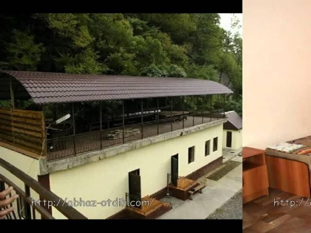 Гостиница «Абхазский дворик», Абхазия, п. Цандрыпш
