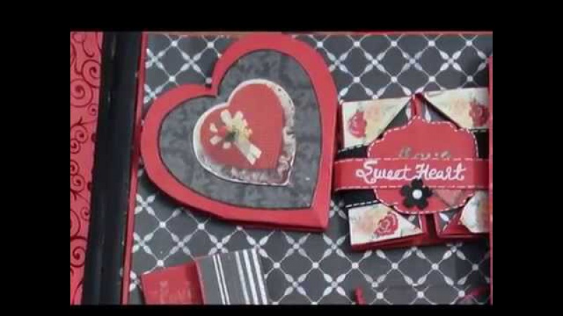 Scrapbook On Love Theme | Anniversary Scrapbook | by Neet's Creations