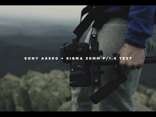Sony a6300 + Sigma 30mm 1.4 DC DN (Slow Motion Test)