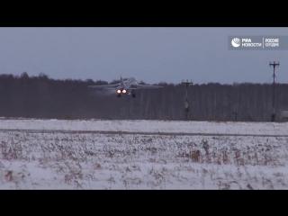 Перебазирование авиации ЦВО в рамках внезапной проверки боеготовности