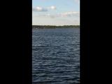 Валдай Иверский монастырь. Озеро.