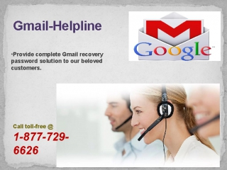 Gmail Help Number 1~877~729~6626 for instant support on Gmail