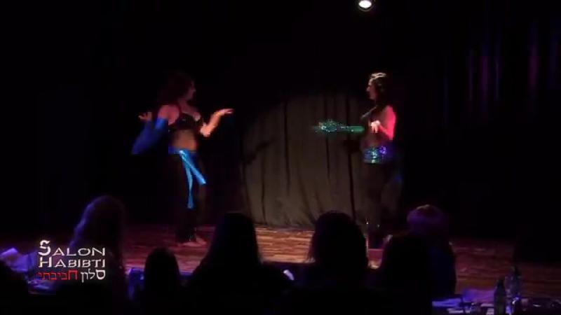 Tamar Bar-Gil Yael Becker Belly Dance Habibi at Salon Habibti 8994