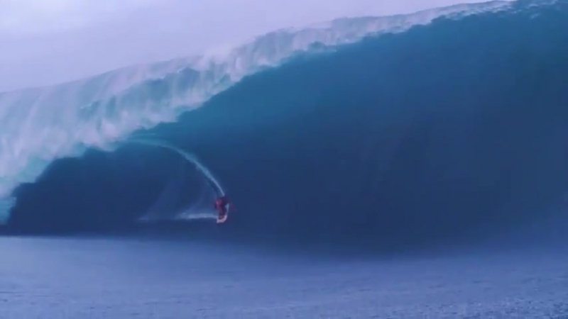 На гребне самых больших волн в мире